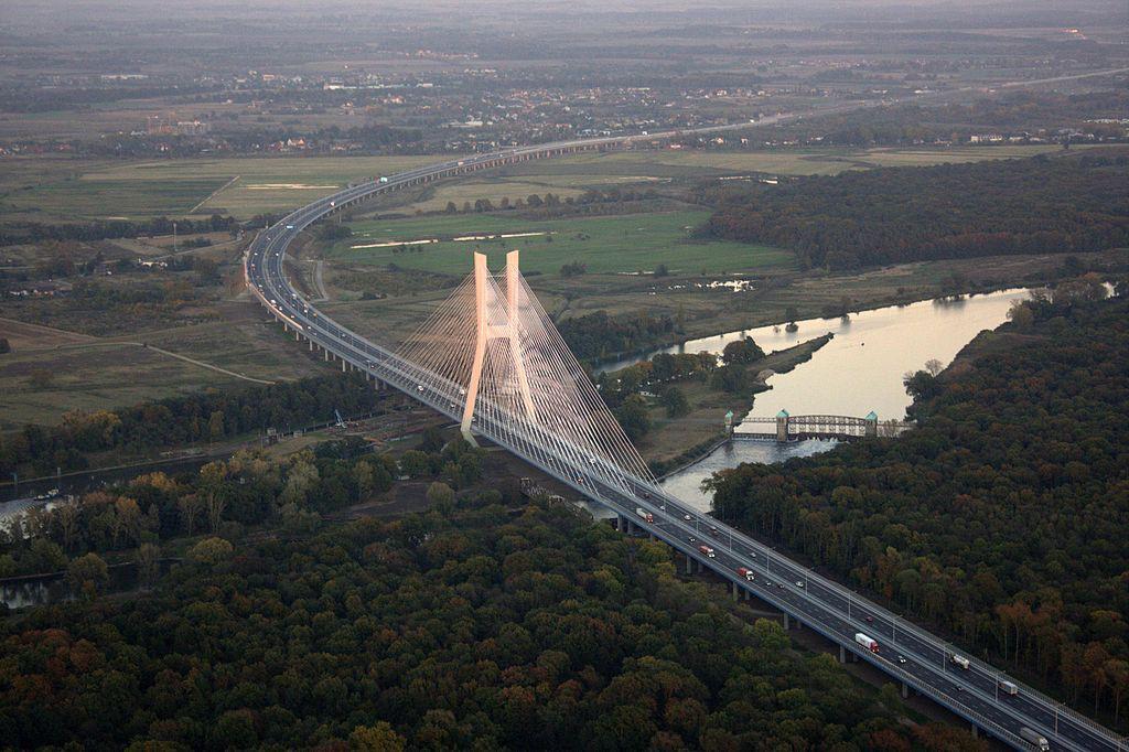 Most Rędziński - Autor: Łukasz Czyżykowski Żródło: wikimedia.org
