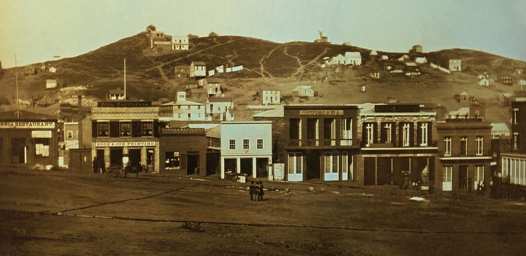 San Francisco Rok 1851