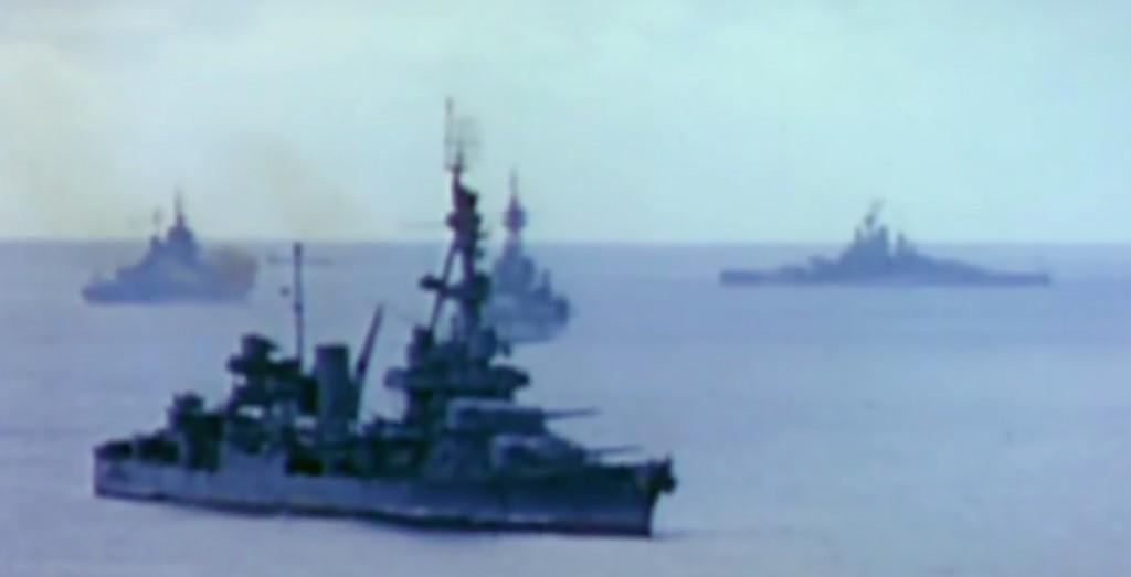 Działania na Pacyfiku - Kolorowy film z frontów II wojny światowej