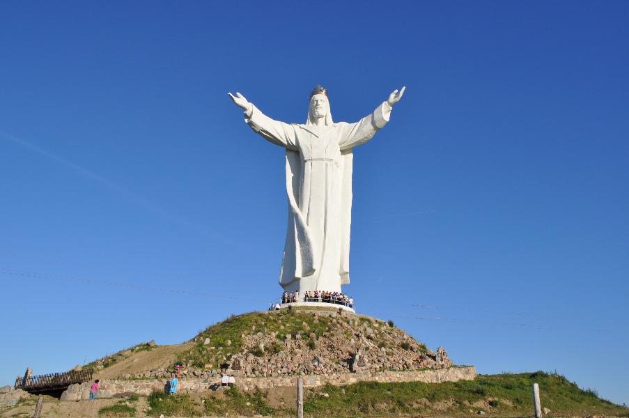Pomnik Chrystusa Króla w Świebodzinie - Autor: Dolny Śląsk Fotografie