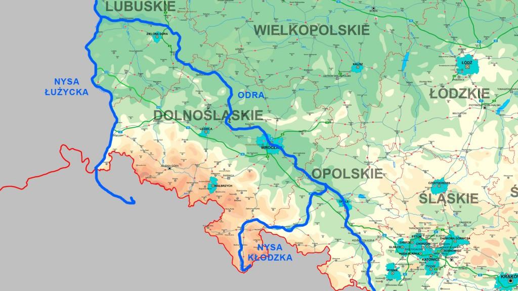 Odra, Nysa Kłodzka i Łużycka - Ustalanie zachodniej granicy Polski
