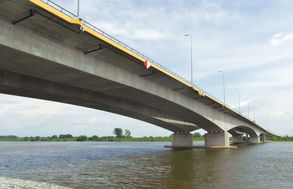 Most autostradowy pod Grudziądzem - Autor: Dalu84 Źródło: commons.wikimedia.org