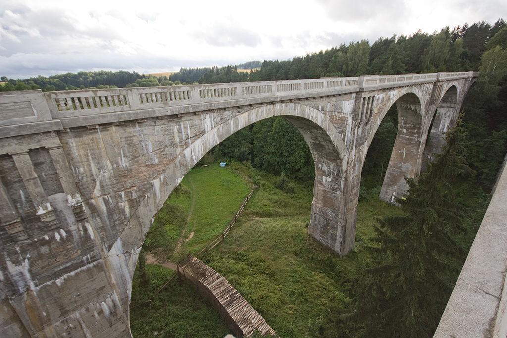 Mosty w Stańczykach - Autor: Honza Groh (Jagro) Źródło: commons.wikimedia.org