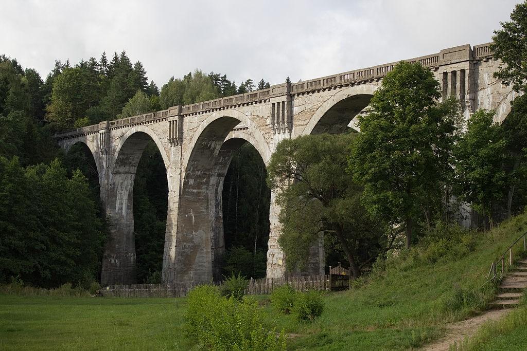 Mosty w Stańczykach - Foto: Honza Groh (Jagro) Źródło: commons.wikimedia.org