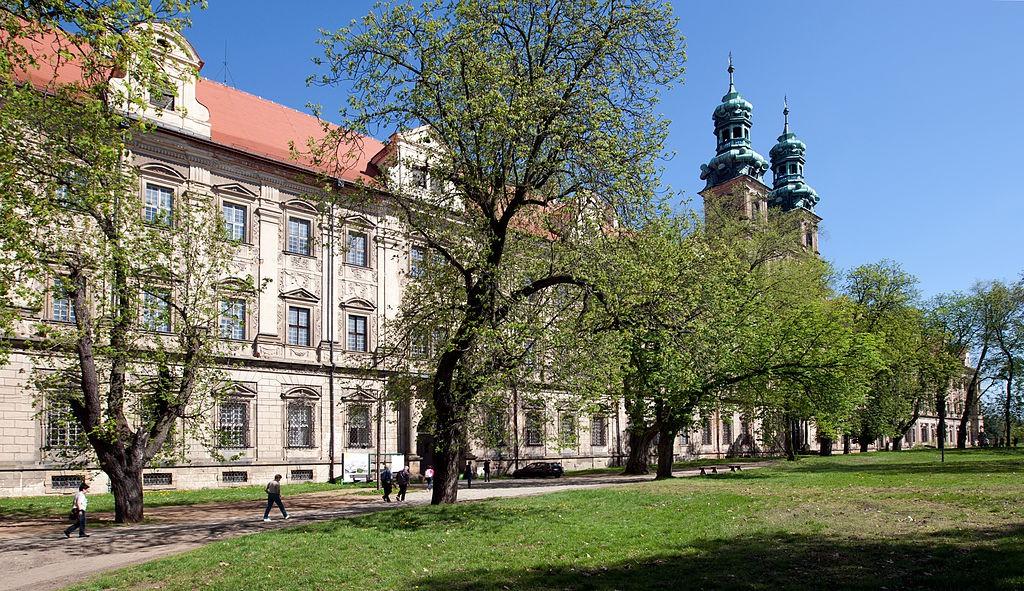 Opactwo Cystersów w Lubiążu - Autor: Jerzy Strzelecki Żródło: wikimedia.org