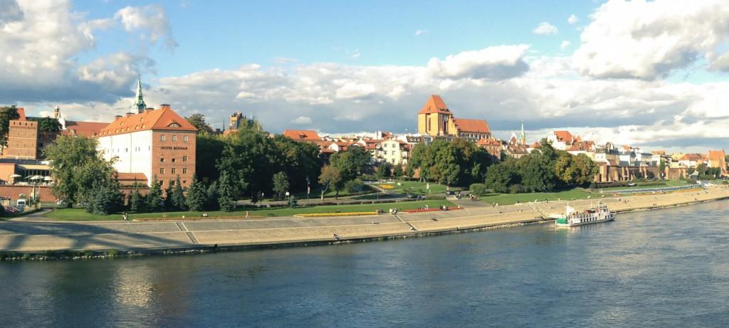 Panorama Torunia - Mapa Pomników Historii w Polsce