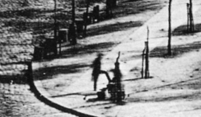 Pierwsze i najstarsze znane zdjęcie człowieka