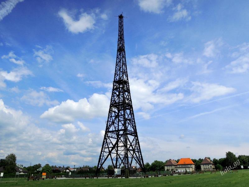 Drewniana Wieża Radiostacji w Gliwicach - Autor: Halina Gniewkowska-Gniadek