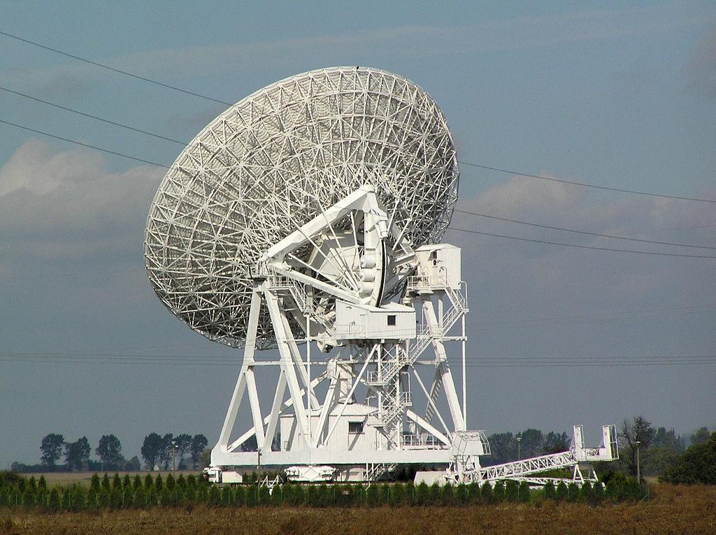 Radioteleskop RT4 - Lista Rekordowych Budowli w Polsce - Autor: Pko Źródło: commons.wikimedia.org