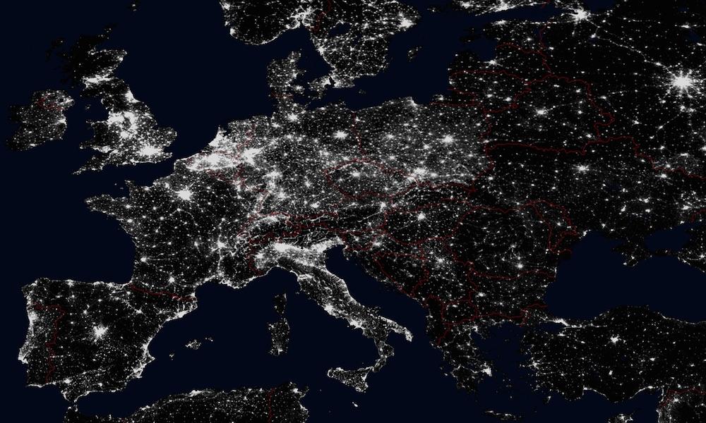 Swiatla Europy I Polski Widziane Z Kosmosu Eloblog