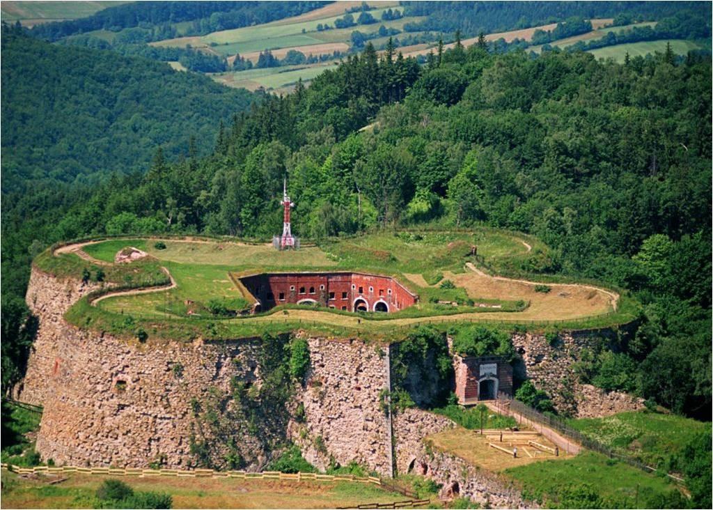 Twierdza w Srebrnej Górze - Foto: Ksiestwo Źródło: commons.wikimedia.org