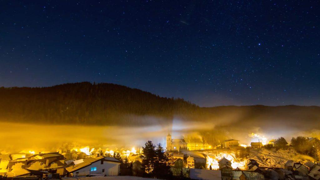 Słowacja, miejscowość Vernár - Kadr z filmu - Źródło: vimeo.com