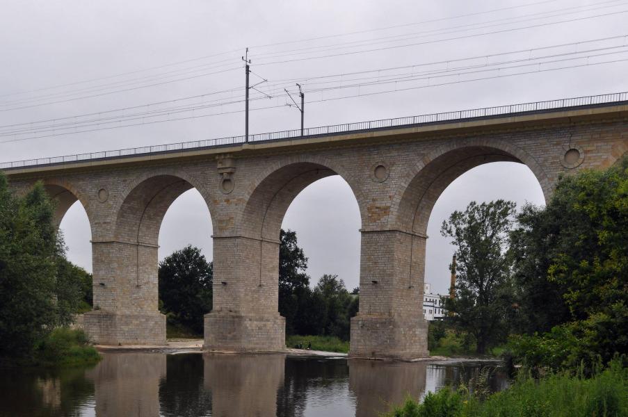 Wiadukt kolejowy Bolesławiec - Autor: Dolny Śląsk Fotografie