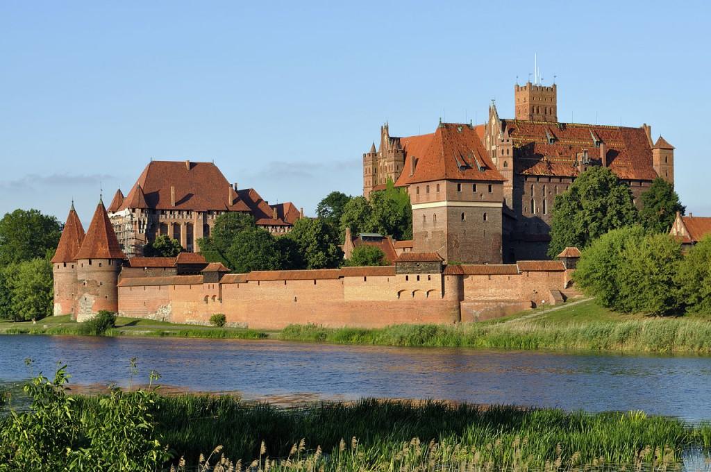 Zamek w Malborku - Autor: DerHexer Źródło: commons.wikimedia.org