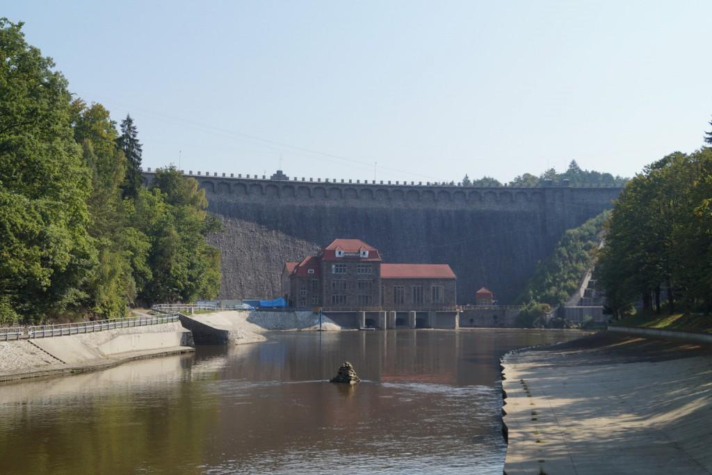 Zapora Wodna Pilchowice - Lista niezwykłych budowli na Dolnym Śląsku