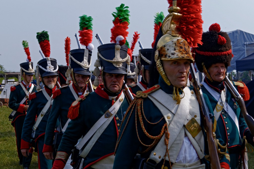 Przygotowanie do bitwy - Święto Twierdzy Srebrna Góra