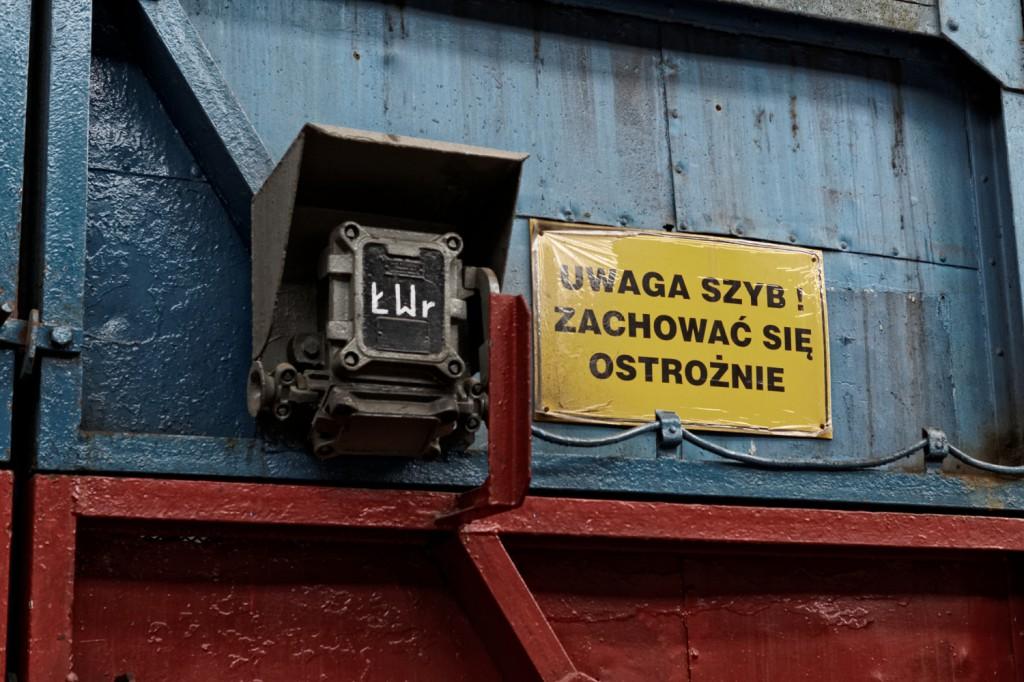 """Szyb """"Kolejowy"""" w Kopalni Guido w Zabrzu"""