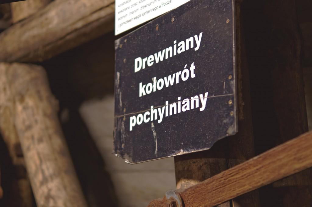 Drewniany Kołowrót Pochylniany