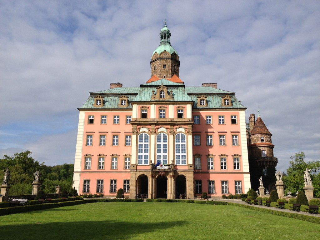 Zamek Książ w Wałbrzychu - Fotografie wykonane iPhonem 4s