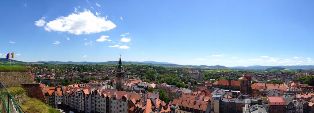 Kłodzko - Panorama wykonana iPhonem 4s