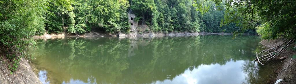 Jeziorko Daisy - Panorama wykonana iPhonem 4s