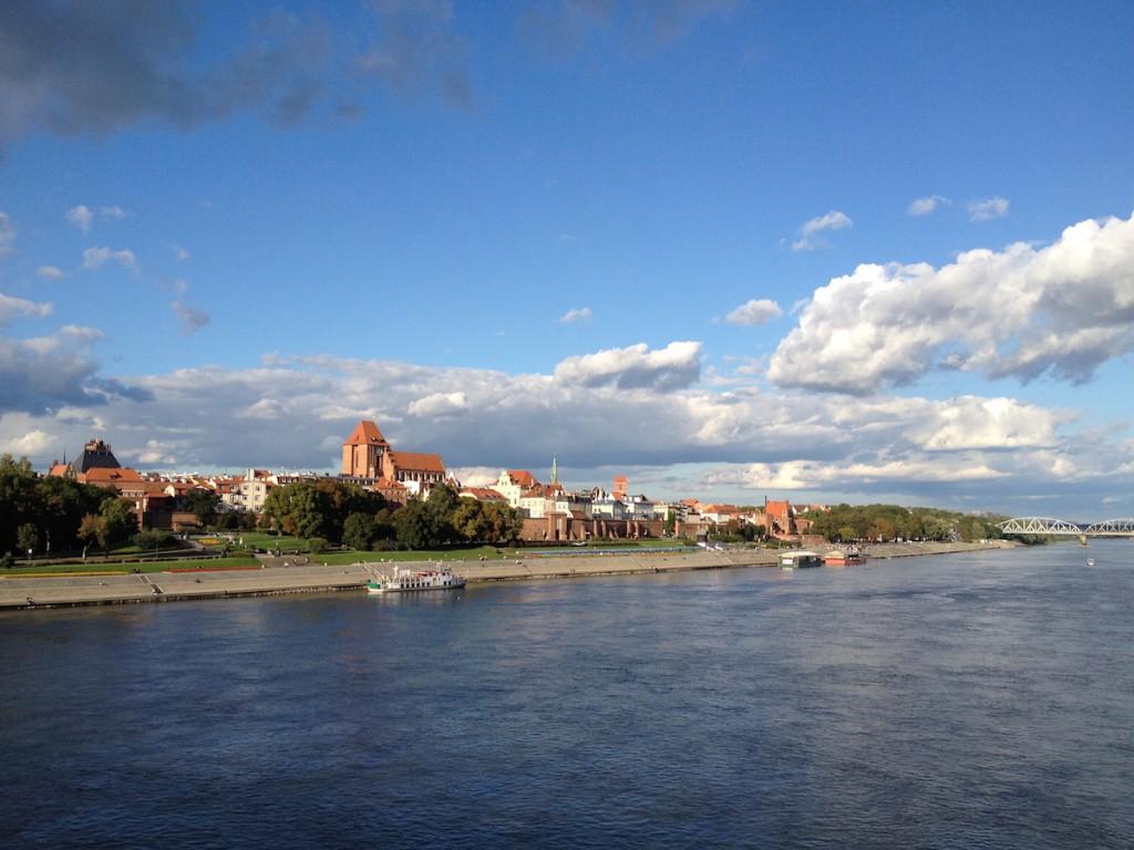 Bulwar Filadelfijski w Toruniu - Fotografie wykonane iPhonem 4s