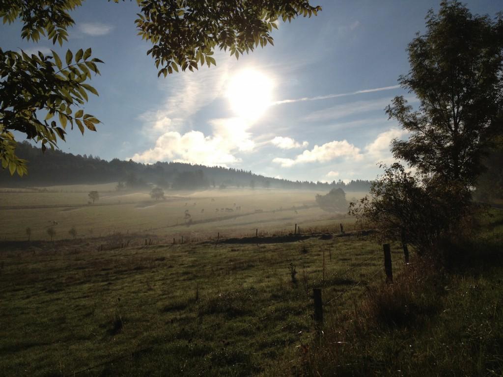 Poranek na Ziemi Kłodzkiej - Fotografie wykonane iPhonem 4s