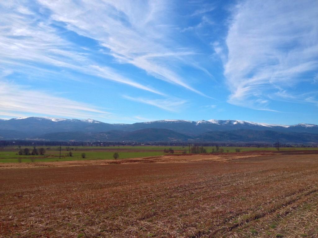 Karkonosze Wiosną - Fotografie Wykonane iPhonem 4s