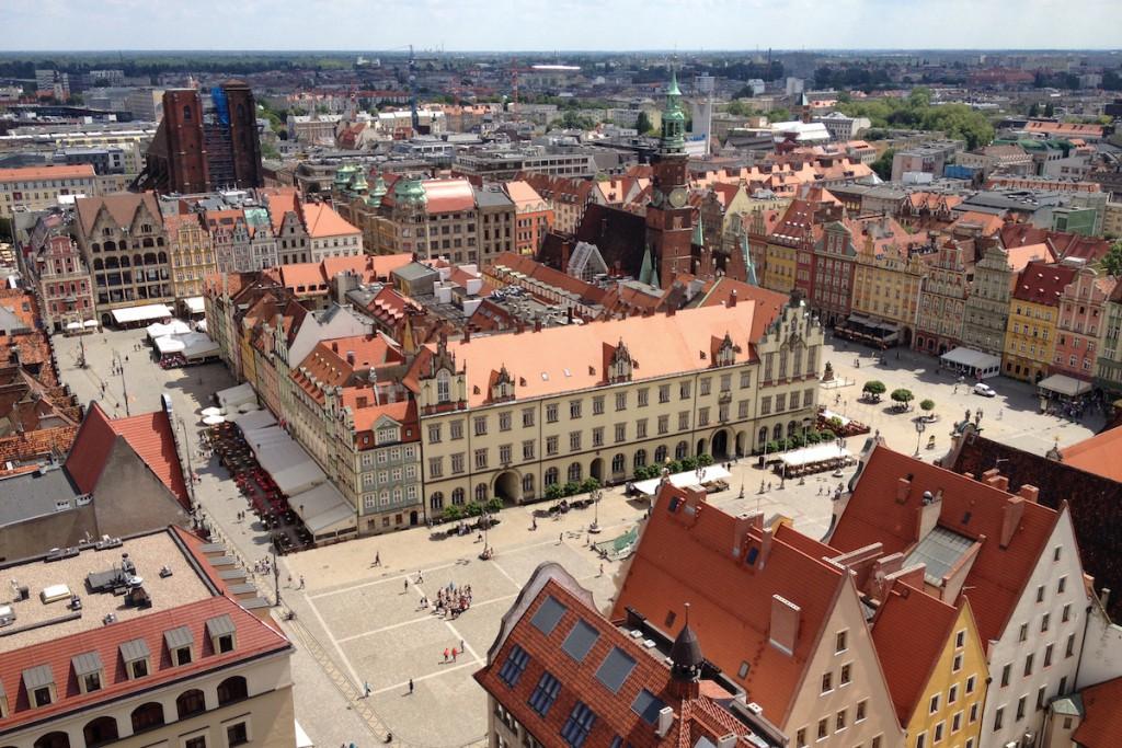 Rynek we Wrocławiu - Zdjęcie Zrobione iPhonem 4s