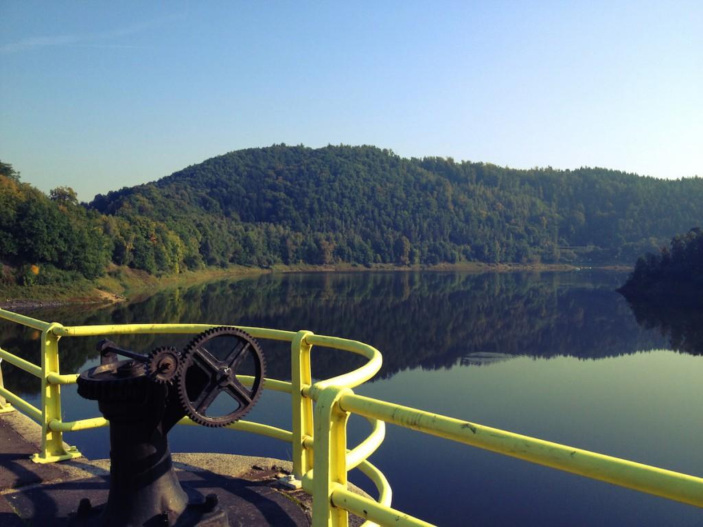 Zbiornik w Pilchowicach - Zdjęcie Zrobione iPhonem 4s (plus filtr)