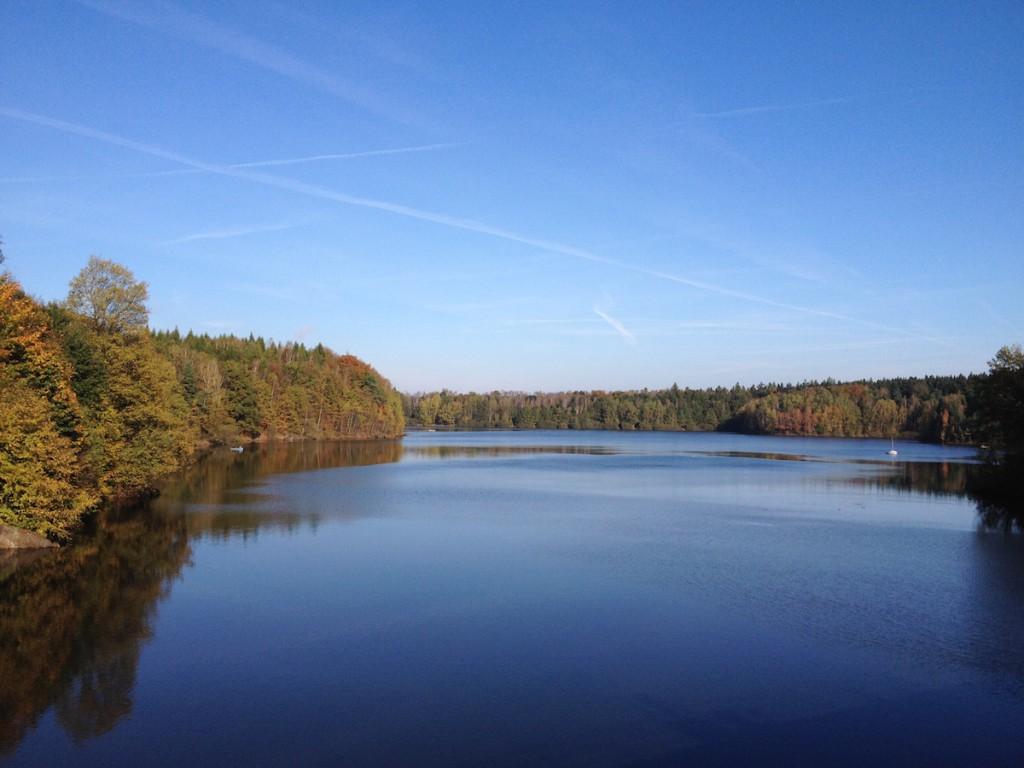 Jezioro Leśniańskie - Zdjęcie zrobione iPhonem 4s