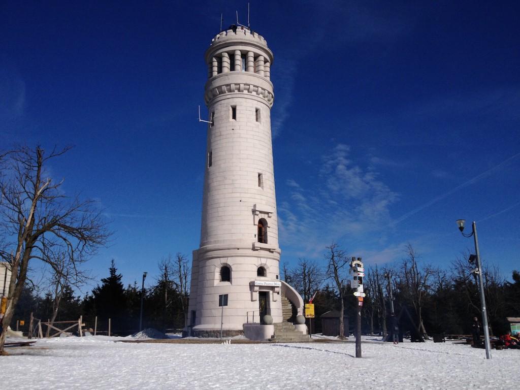 Wieża na Wielkiej Sowie - Zdjęcie zrobione iPhonem 4s