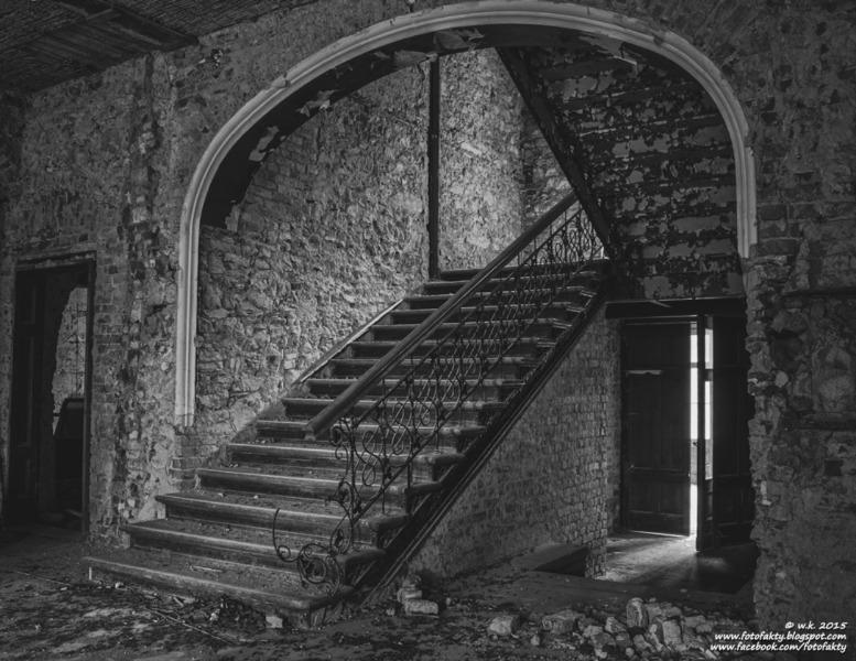 Pałac w Wojcieszowie - Wnętrze - Foto: Wioletta Kozłowska