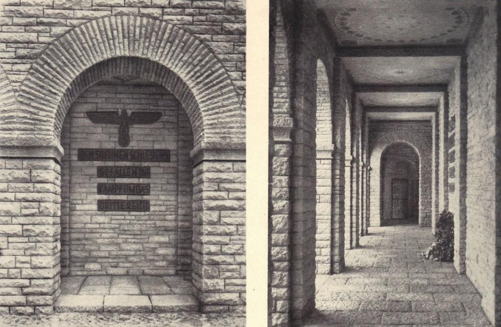 Wnętrze Mauzoleum i Nazistowska Symbolika - Źródło: dolny-slask.org.pl