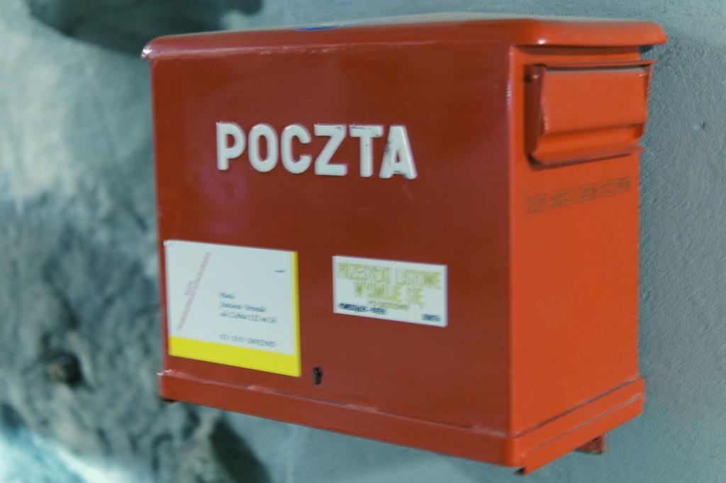 Skrzynka pocztowa w Kopalni Guido