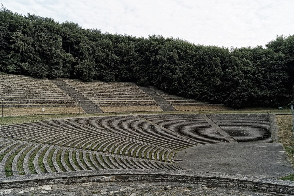Amfiteatr pod Pomnikiem - Góra Świętej Anny - Zdjęcie 2015 Rok