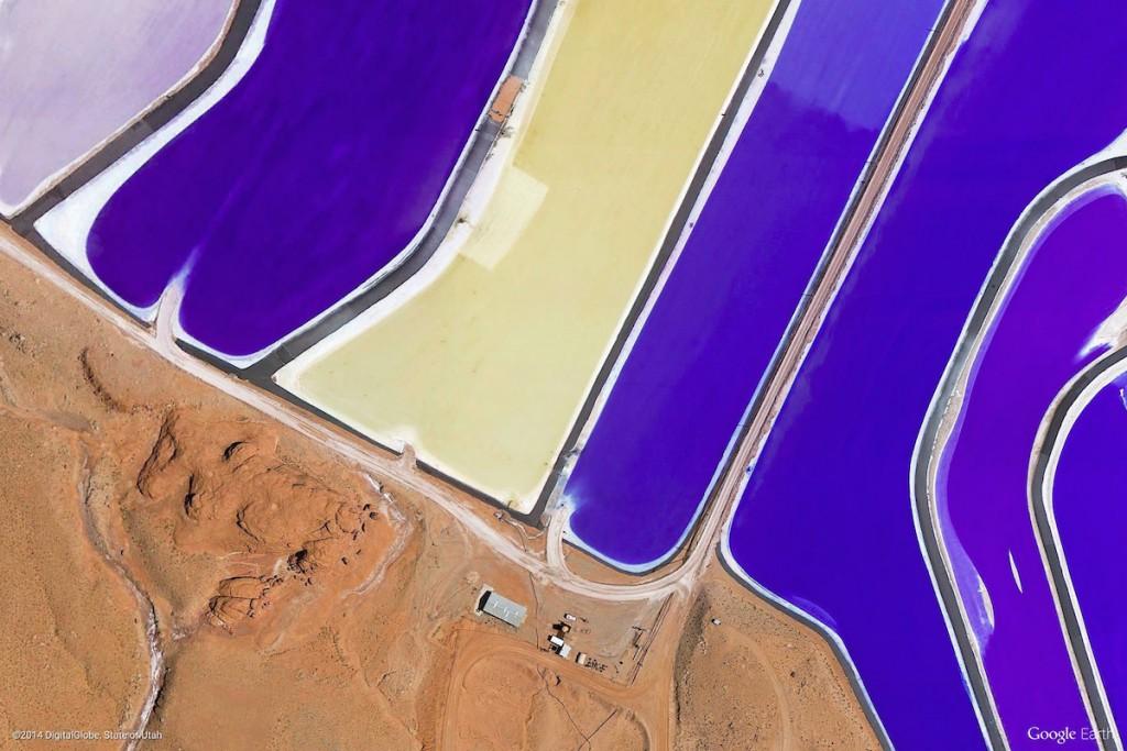 Intrepid Potash USA - Zdjęcia Ziemi Źródło: earthview.withgoogle.com