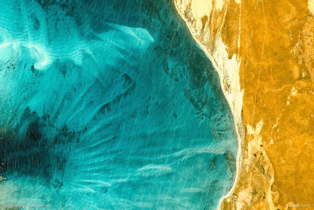 Wybrzeże Australii - Zdjęcia Ziemi Źródło: earthview.withgoogle.com