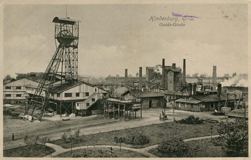 Kopalnia Guido w Zabrzu - Lata 1920-1940 - Źródło: fotopolska.eu