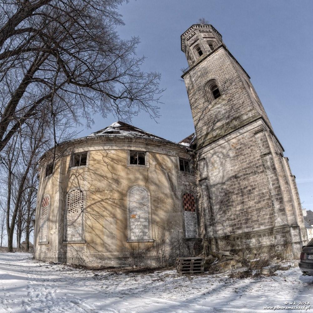 Kościół ewangelicki w Żeliszowie - Lista opuszczonych miejsc - Foto: Wioletta Kozłowska