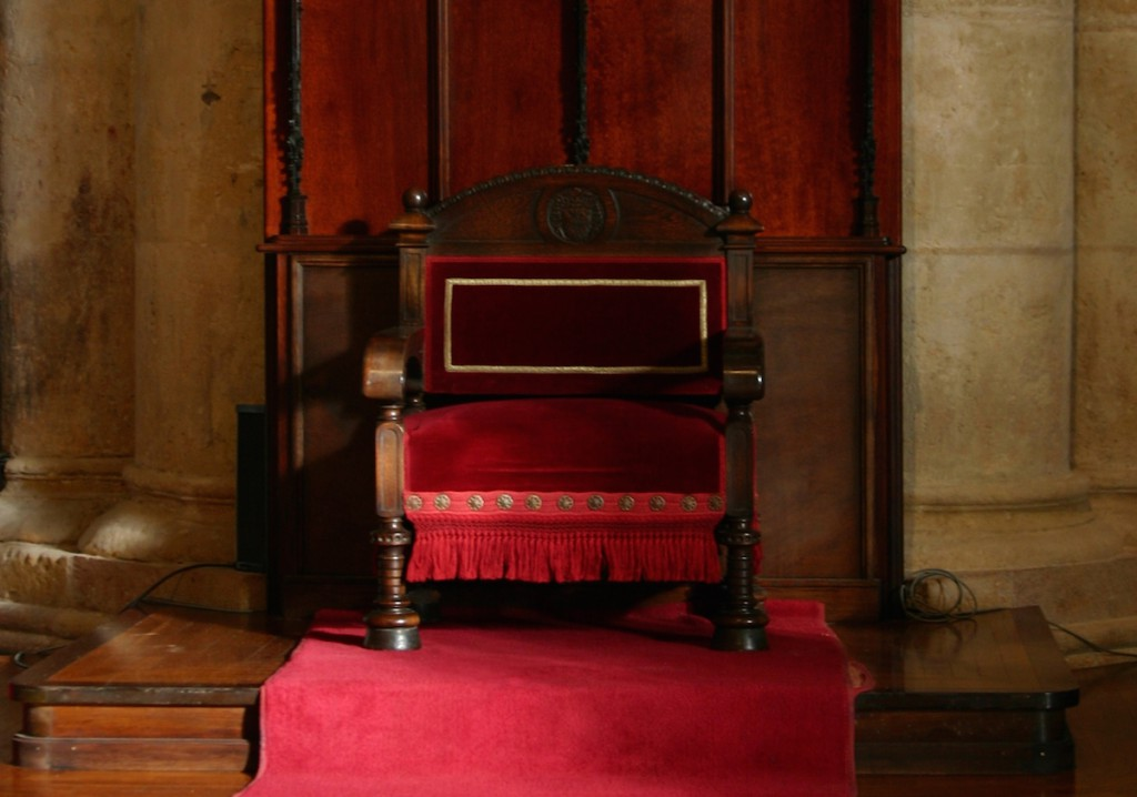 Krzesło Biskupa w Katedrze de Tarragona - Foto: José Luiz Bernardes Ribeiro Źródło: commons.wikimedia.org