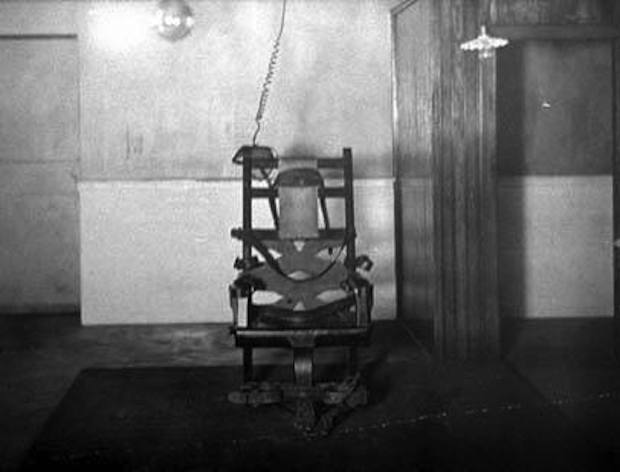 Pierwsze Krzesło Elektryczne - Historia Krzesła - Źródło: commons.wikimedia.org