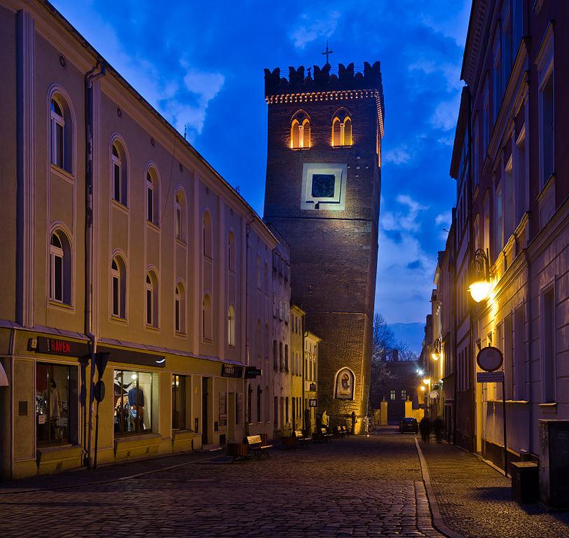 Krzywa Wieża w Ząbkowicach - Autor: Jacek Halicki Źródło: commons.wikimedia.org