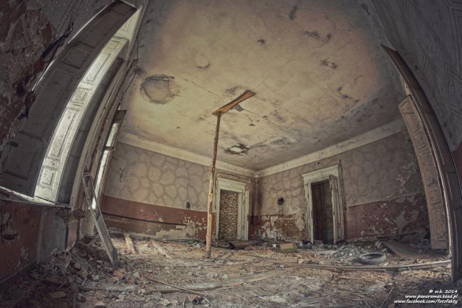 Pałac w Ligocie - Wnętrze - Foto: Wioletta Kozłowska