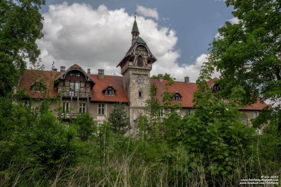 Pałac w Osłej - Lista opuszczonych miejsc - Foto: Wioletta Kozłowska