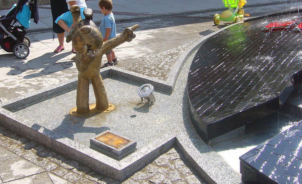 Pomnik Reksia - Foto: Gaj777 Źródło: commons.wikimedia.org