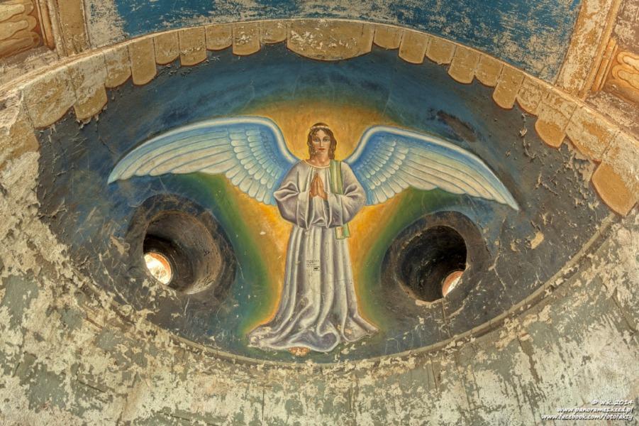Święta Góra w Lubawce - Wnętrze i malowidła - Foto: Wioletta Kozłowska