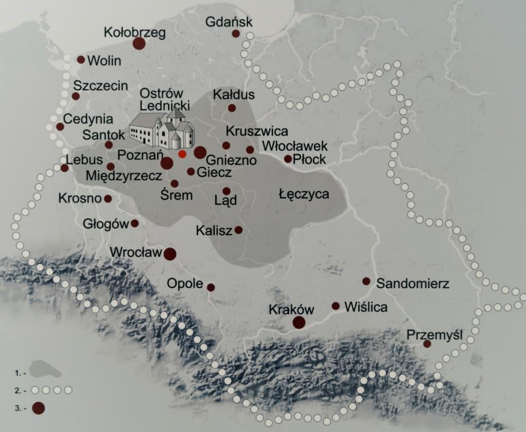 Ostrów Lednicki i Polska za Panowania Mieszka I - Zbiory Muzeum Pierwszych Piastów