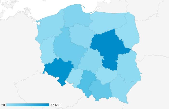 Dane Geograficzne Lokalizacja Odbiorców - Reklama na Blogu