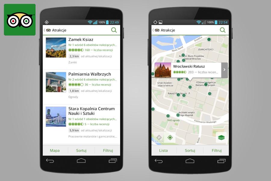 TripAdvisor - 14 Aplikacji Przydatnych w Turystyce za Granicą